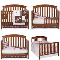 Crib Converts To Bed A Crib Into A Size Bed