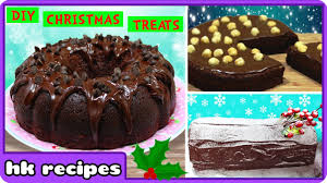 top 5 christmas cake recipes quick and easy chocolate cake