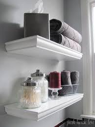 Bathroom Shelves Pinterest Bathroom Shelf 1000 Ideas About Bathroom Shelves On Pinterest