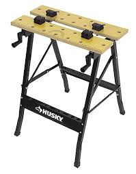 folding work table home depot husky folding workbench the home depot canada
