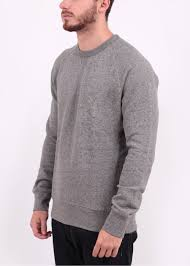levis original crew sweater medium grey