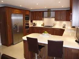 kitchen layouts l shaped with island free standing island with stone u shaped kitchen design pictures
