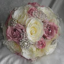 silk bridal bouquets silk wedding bouquets silk wedding flowers florist