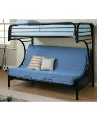 Futon Bunk Bed Sale Sale 2253k Fordham C Style Metal Futon Bunk Bed With