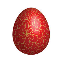 easter egg ornaments large easter egg with gold ornaments gallery yopriceville