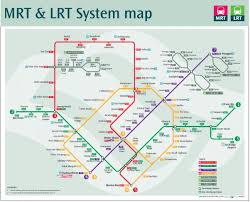 Route Maps by Lrt Route Map Lrt Route Map Singapore Republic Of Singapore