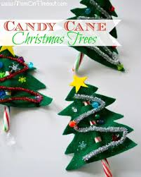 candy cane christmas trees craft mom on timeout
