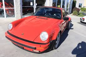 porsche 930 turbo wide body 1985 porsche 911 euro wide body turbo look stock 116c for sale