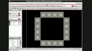virtuoso layout design basics cadence ic615 virtuoso tutorial 16 layout of padframe part 1 2