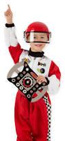 Lighting Mcqueen Halloween Costume by Melissa U0026 Doug Race Car Driver Role Play Costume Set 3 Pcs