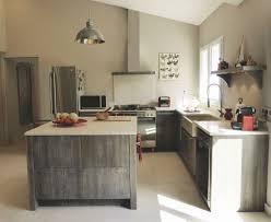 modele de cuisine rustique ilot central de cuisine collection et modele de cuisine but photo