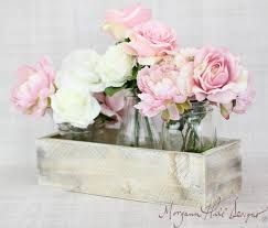 planter box centerpiece vase shabby chic 2054541 weddbook