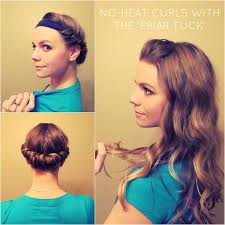 headband waves ways to do your hair just tuck in your hair when it is it