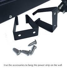 amazon com opentron ot4126 metal surge protector power strip 4