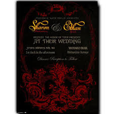 halloween wedding invitations u2013 gangcraft net