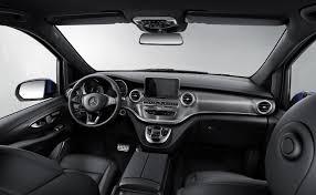 luxury mercedes van mercedes benz packs s class like luxury features into the v class van