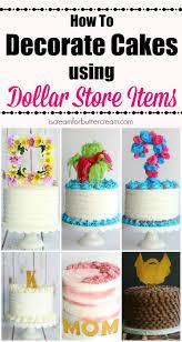 Decorate Decorate Cakes Using Dollar Store Items I Scream For Buttercream