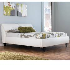 Queen Beds With Storage Millennium Jansey Metro Modern White Queen Bed With Headboard