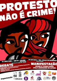 """Famosos Joinville] Debate """"Criminalização dos movimentos sociais"""" – com  &TE38"""
