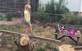 dad builds backyard ninja warrior course for daughter insidehook
