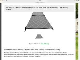 Cheap Caravan Awnings Online Awning Derbyshire Used Caravan Accessories Buy And Sell In The