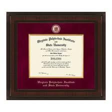 virginia tech diploma frame virginia tech diploma frame excelsior graduation gift