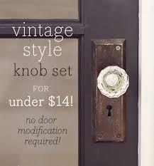 Vintage Glass Door Knobs by A Vintage Glass Doorknob Diy For Under 14 Jenna Sue Design Blog