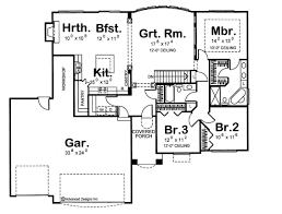 Medieval Castle Floor Plan by House Plans