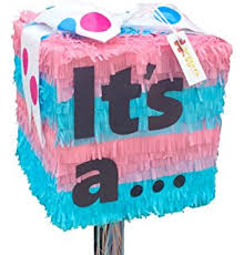 reveal baby shower gender reveal baby shower pinata pull string kitchen