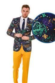 mardi gras formal attire mens pattermed blazers