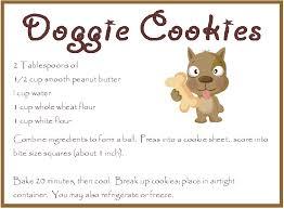 recipe for dog treats home