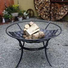 handmade fire pit circular fire pit brazier by ironart of bath