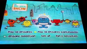 men show dvd menu guide