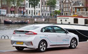 hyundai vehicles hyundai electric car sharing starting in amsterdam with 100 cars
