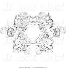 royalty free stock horse designs of coat of arms
