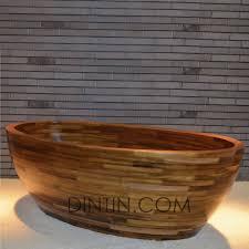 Wood Bathtubs Contemporary Teak Bathtub Freestanding Custom Teak Bathtubs Wood