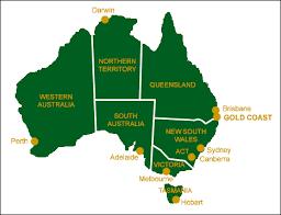 australia map capital cities gold coast maps location maps gold coast