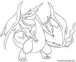 pokemon x ex 3 coloring pages printable