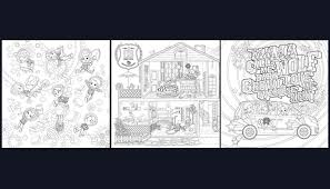 Colouring Book Exo A Day In Exoplanet Coloring Pages Kpop