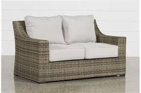 wicker outdoor sofa outdoor patio furniture entire collection living spaces