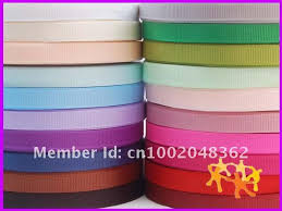 3 8 inch ribbon wholesale 3 8 10mm solid grosgrain ribbon lots 100yds mixed 20