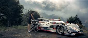 audi commercial audi injects r18 le mans racer in its latest rs 6 ad video