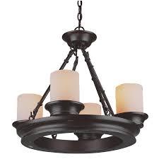 allen roth 3364 4 light bronze chandelier lowe u0027s canada