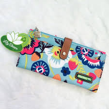 bloom wallet bloom floral print wallet nwt bags zippers and lilies