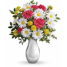 Bouquet Of Flowers In Vase Fort Worth Florist Flower Delivery By Rey Bethea Florist