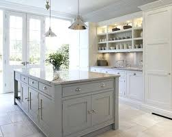 light grey kitchen cabinets with dark countertops gray black wall