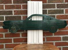 ford mustang metal wall custom ford mustang 3d metal wall sign by patriotcustomsinc