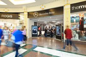 mercedes boutique pop up to intu trafford centre to experience mercedes