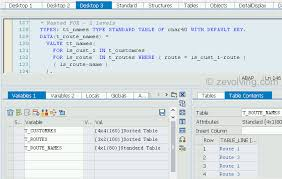types of table ls abap 740 for iteration expression abap help blog