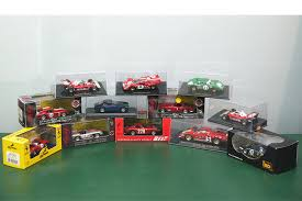 toy ferrari model cars sold model cars 12 x ferrari assorted models scale 1 43